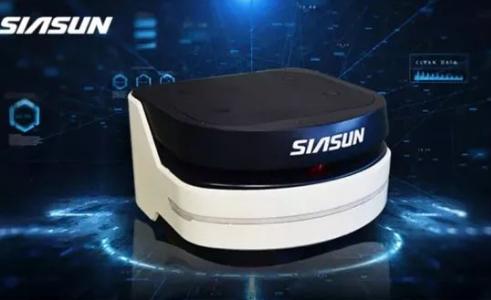 亚洲国际物流展上 新松激光轮廓导航移动机器人正式亮相