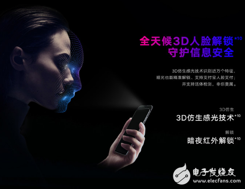 荣耀Magic2前置三摄拥有快速的人脸解锁 安全