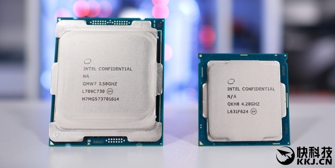 Intel发烧六核i7-7800X实测 如果打算追求极限那就必须扔掉硅脂