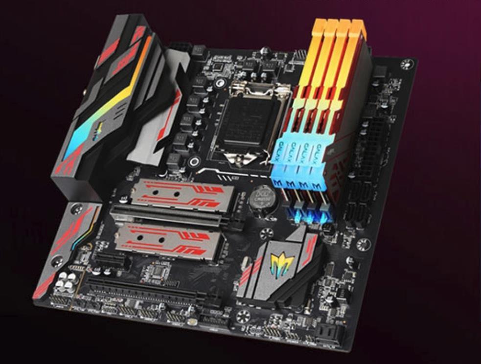 影驰B360GAMER评测 千元内最具性价比的RGB灯效主板