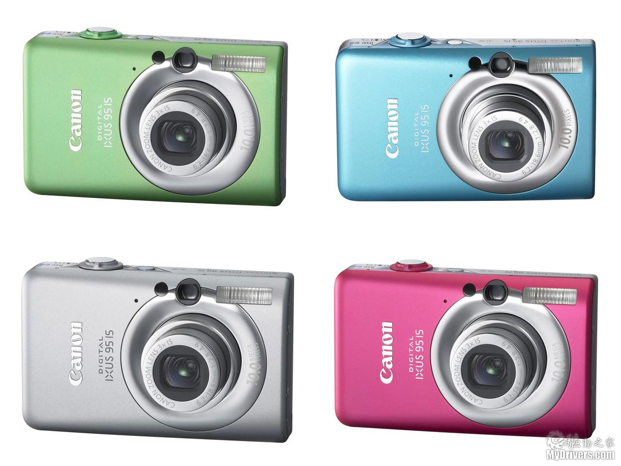 佳能IXUS95IS数码相机评测 比较适合年轻人选用