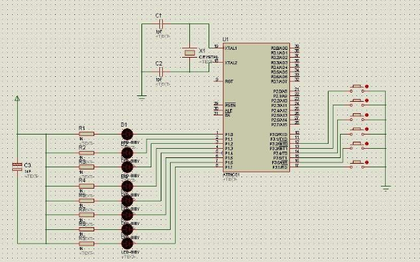 使用义隆单片机点亮不同亮度LED  PWM全接触的程序免费下载