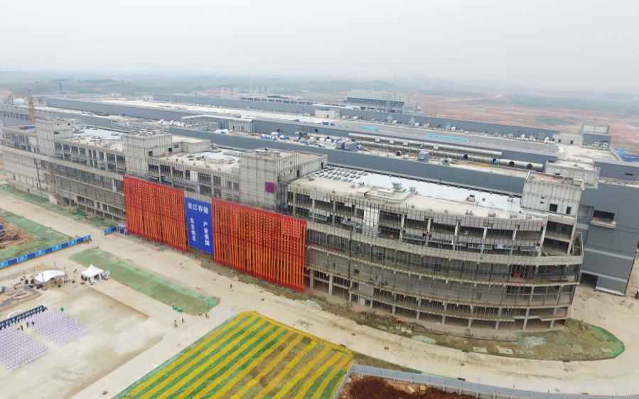 长江存储 年底可望投产