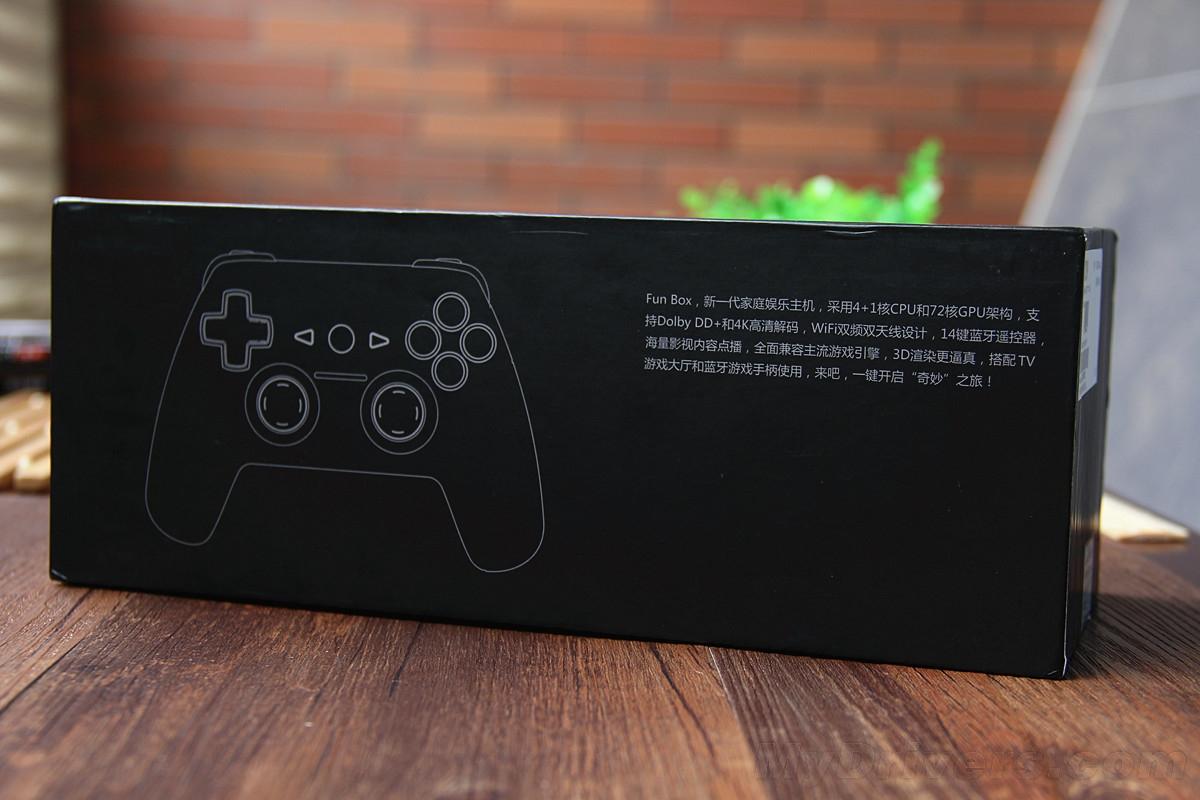 中兴九城游戏机FunBox评测 电视盒子游戏主机二合一