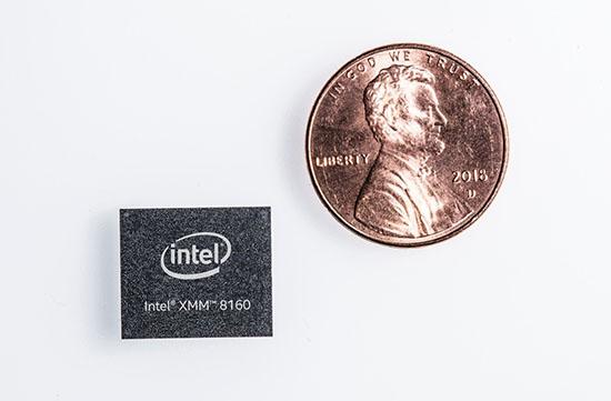 英特尔提前发布XMM 8160 5G多模调制解调器