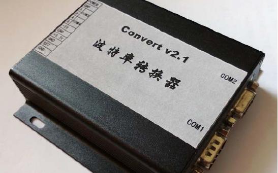 Convert v2.1版波特率转换器的使用手册免费下载