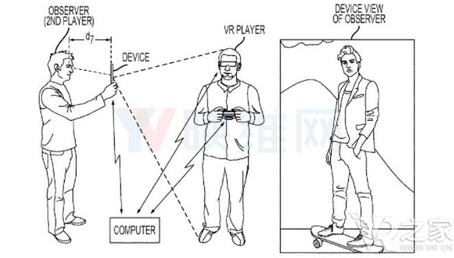 索尼提交新专利 为交互式VR直播和新的游戏玩法开辟了道路