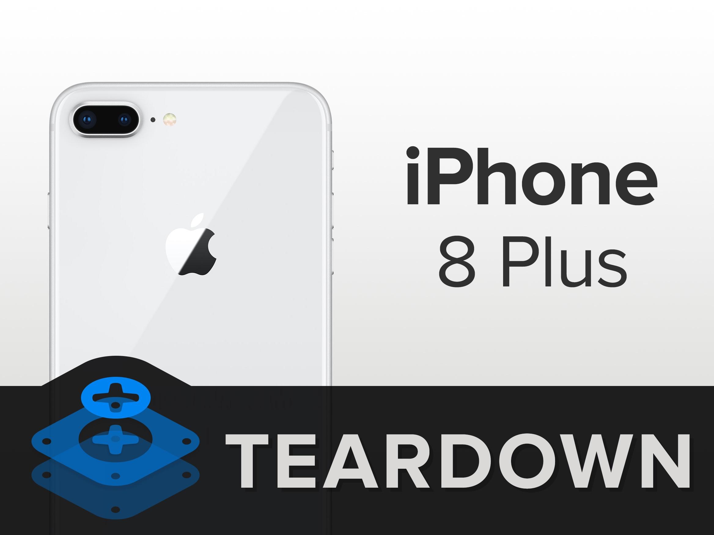 iPhone8Plus拆解 内部做工如何