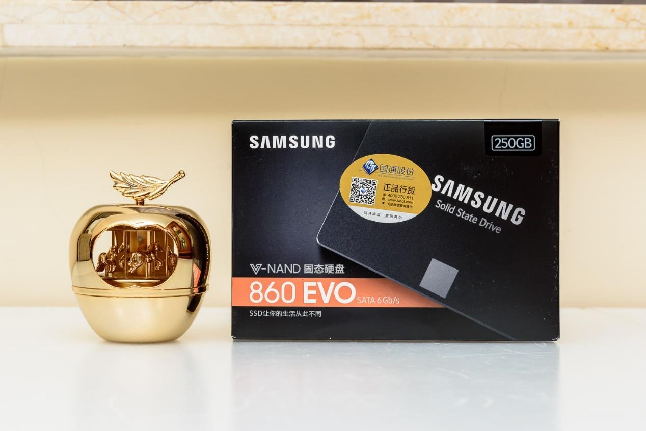 三星860EVO250GB评测 代表了目前3DTLC产品第一梯队的表现