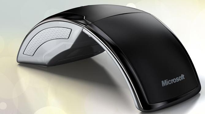 微软新一代Arc鼠标评测 折叠设计很奇特