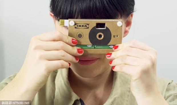 宜家纸板相机KNÄPPA评测 用纸板做成的相机用起来怎么样