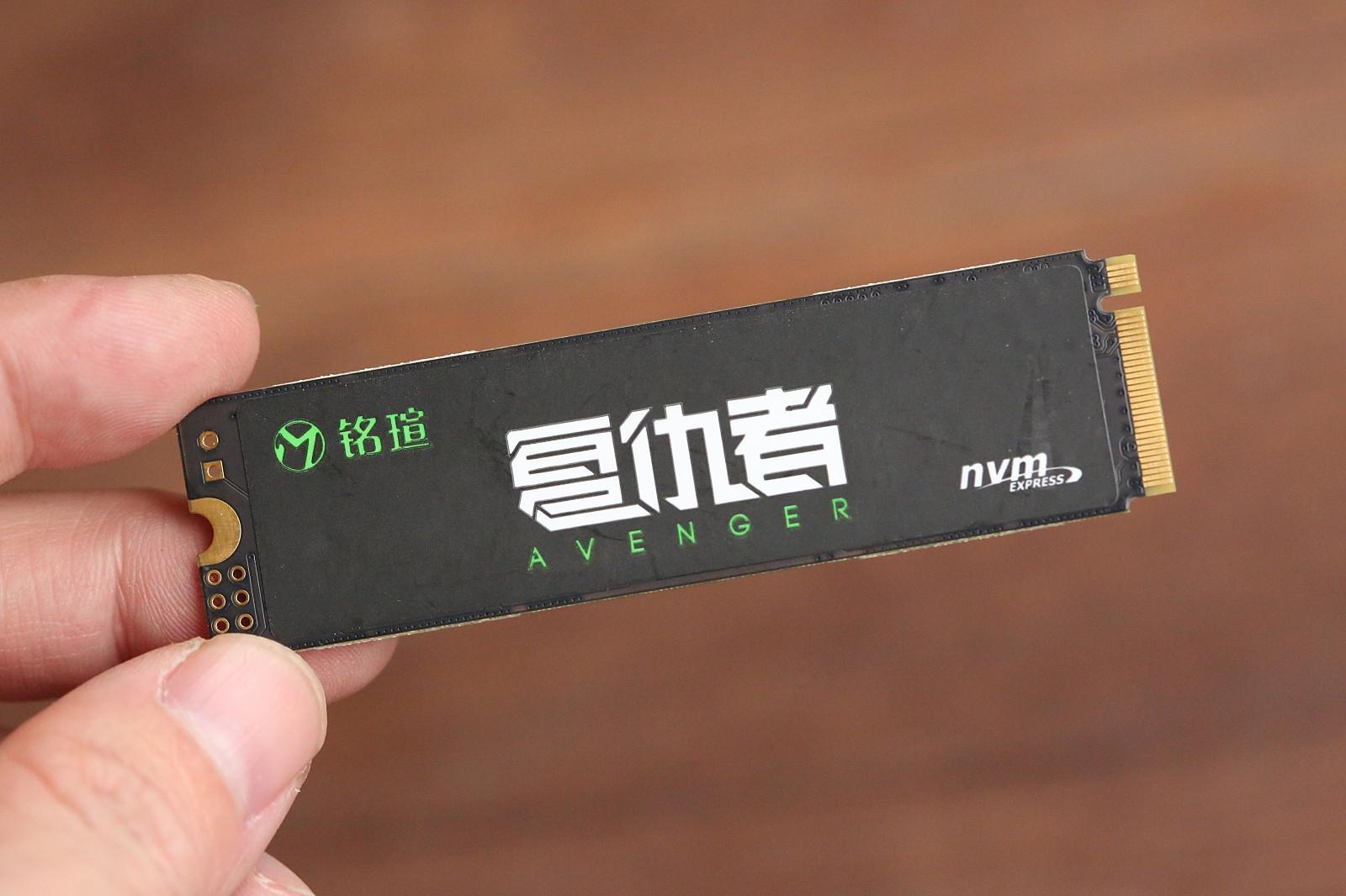 铭瑄复仇者NM5240GB评测 性价比极致的NVMeSSD