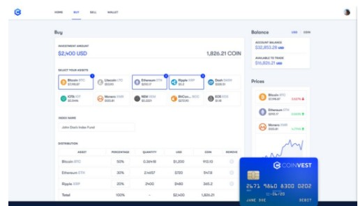 加密数字货币投资平台Coinvest介绍