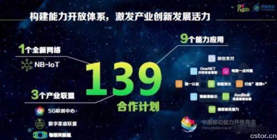 中国移动三大产业联盟助力139升级点亮5G连接新时代