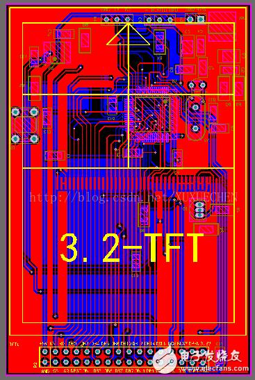 STM32单片机ILI9325系列TFT的驱动原理解析