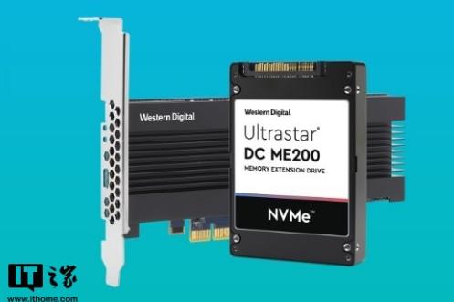 西数发布了新款内存扩展固态盘 可优化内存系统容量与性能