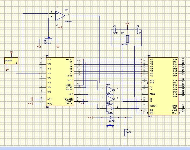 MC51单片机取键值程序分享
