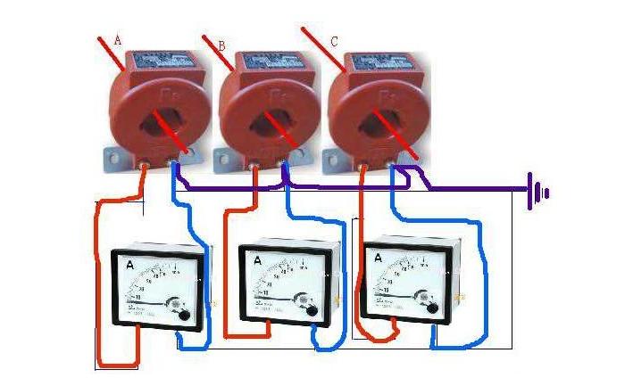 简述电流互感器接线方式