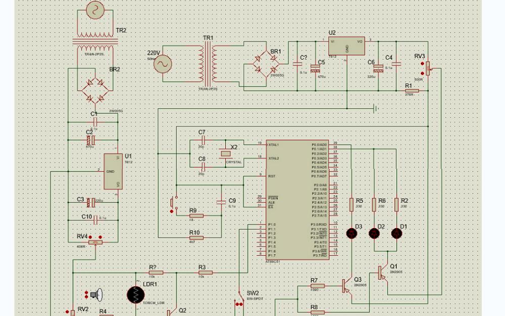 使用51单片机和光敏电阻设计的智能LED路灯资料合集免费下载