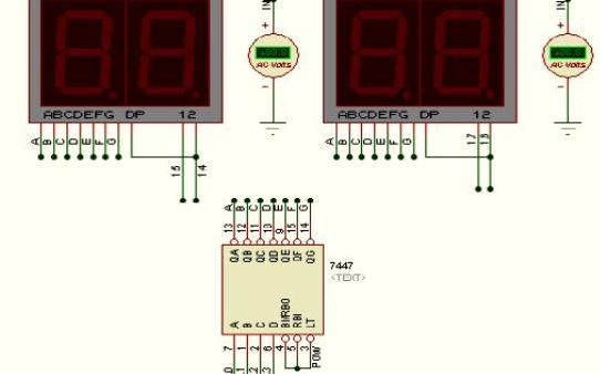 单片机设计的简易电压表的程序和仿真资料免费下载