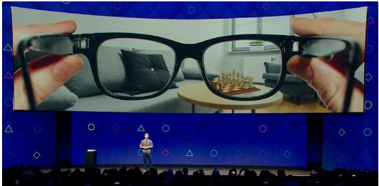 Facebook计划研究增强现实眼镜 现在正在加...