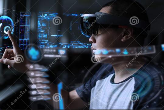 微软的增强现实全息透镜long88.vip龙8国际被用来进行下肢手术