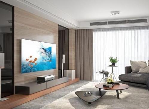 标配自动对焦的激光电视在不远的将来就会走进用户的...