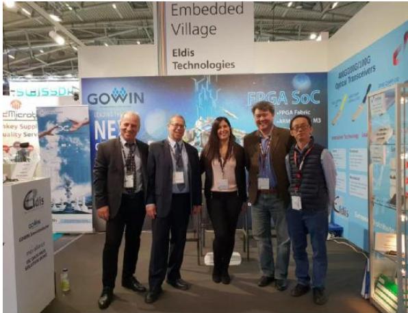 高云半导体携最新的FPGA技术与产品出席2018德国慕尼黑电子展