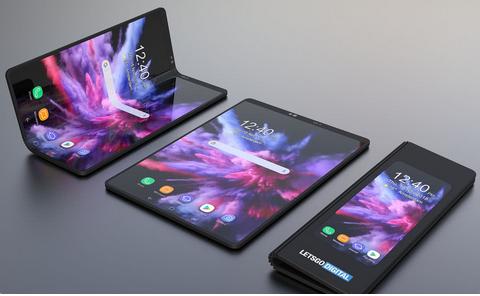 华为柔性折叠手机支持5G 或将赶超三星