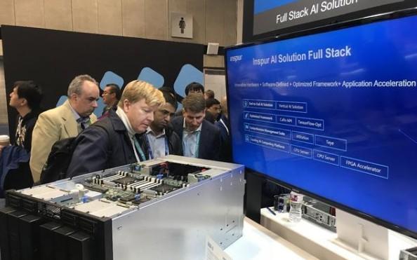 浪潮AI超级服务器AGX-5专为AI深度学习和高性能计算性能扩展设计