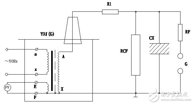 油浸式试验变压器接线图-使用方法