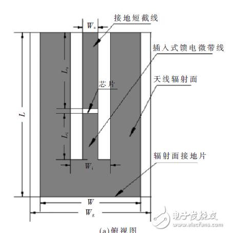 对现有微带结构的抗金属标签天线进行小型化改进设计详解
