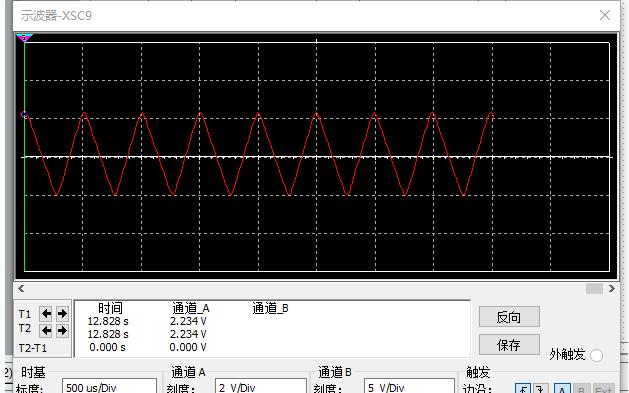 加法器输出和三角波及正弦波示波器和仿真的详细资料免费下载