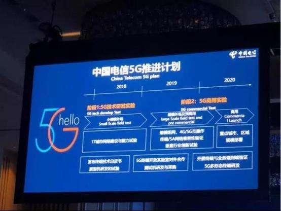 中国电信在深圳已开通31个5G站点计划到2019...