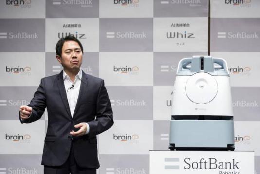 软银发布新机器人Whiz 加快了自己的机器人征途