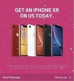 美国运营商T-Mobile上线最新优惠,iPhone XR可以免费到手
