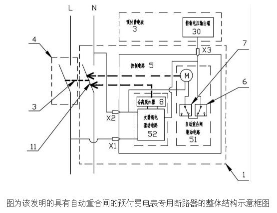具有自动重合闸的预付费电表专用断路器的原理及设计