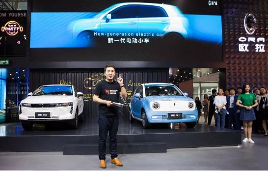 基于中国第一个纯电动专属平台 欧拉开创了中国新能...