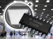 英飞凌推出通过电阻器调节参考电压的LED驱动器