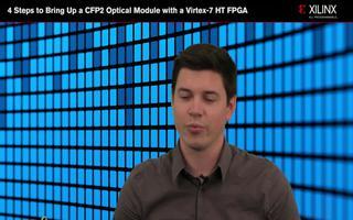 如何使用Virtex-7 HT FPGA构建CFP2光模块