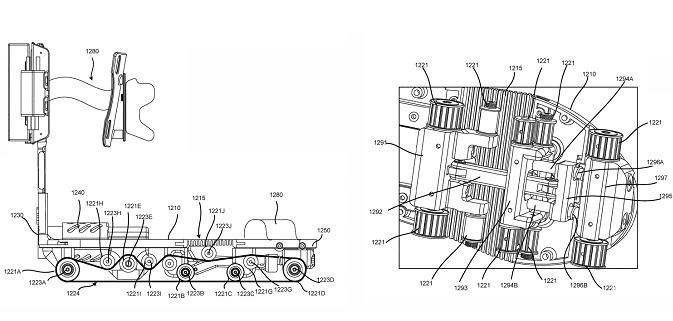 谷歌获得带轮电动鞋专利 该设备面向虚拟现实应用