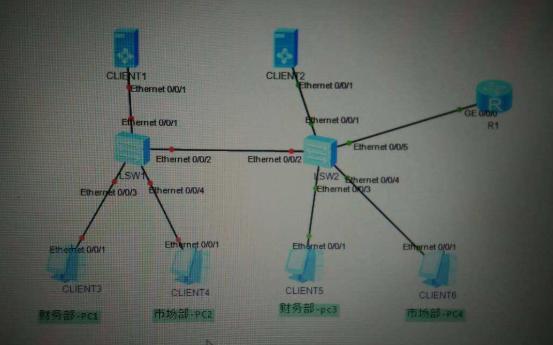 如何将交换机的接口分配到vlan中