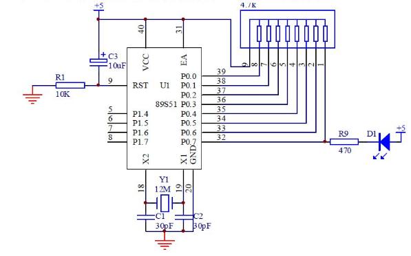 51单片机教程之LED灯有关实验的实例编程资料合集免费下载