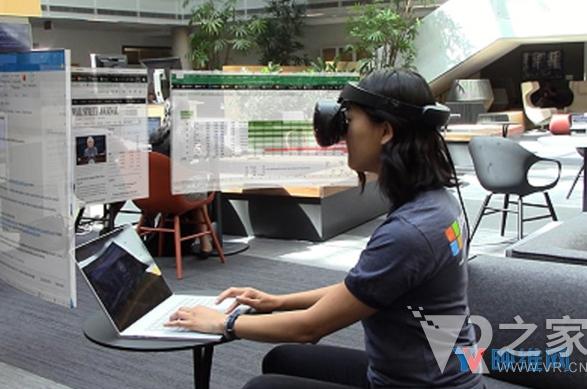 微软旨在通过VR头显来优化虚拟显示