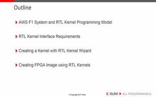 SDAccel RTL内核向导(4-3)