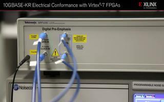 FPGA GTH收发器实现了10GBASE-KR与Virtex-7 FPGA的电气一致性