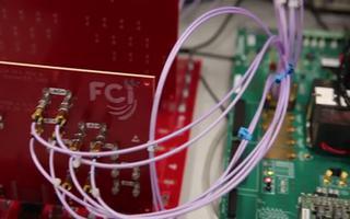 Virtex UltraScale+ FPGA收發器的演示