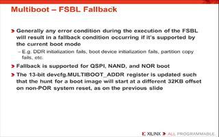 Xilinx FSBL如何操作启动Zynq器件