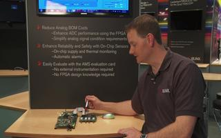 Xilinx 7系列模拟混合信号评估平台演示