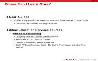 Virtex-7 FPGA系列的内存控制器介绍